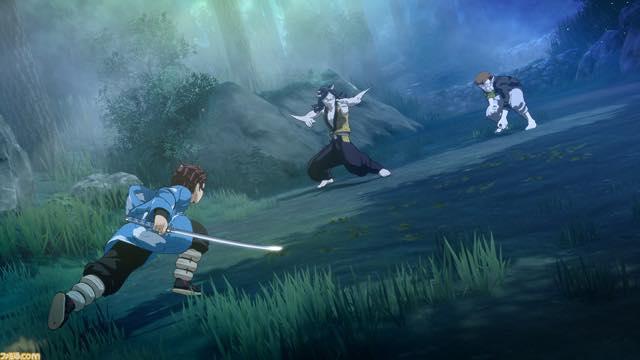 『鬼滅の刃 ヒノカミ血風譚』ゲームプレイ画像
